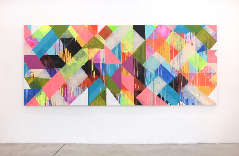 MH_Holding_Pattern_2019_153x366cm_Acrylic_on_Panel_Alice_Gallery