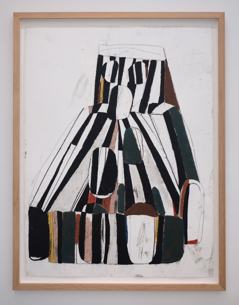EKTA_WAY_DOWN_HERE_2020_83.5x63.5_FRAMED_PASTEL_ON_PAPER_Alice_Gallery